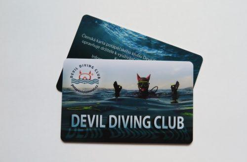 Členství v Devil Diving Clubu