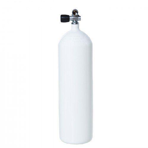 Láhev tlaková 12l/230 bar/171mm – s montoventilem a gumovou botkou