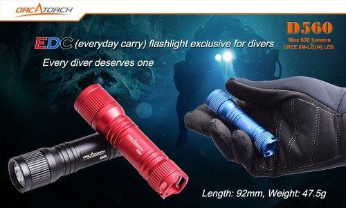 OrcaTorch Mini světlo D560