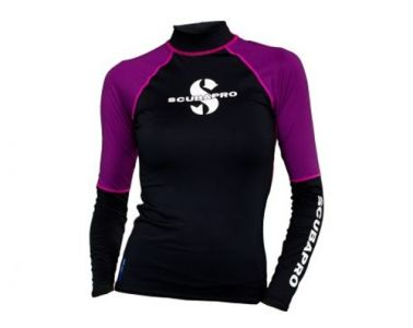 Scubapro UPF 50 T-Flex Long Sleeve Rash Guard Women Jewel