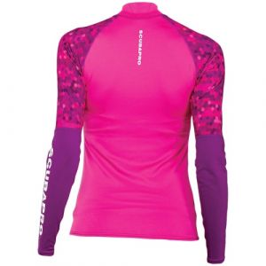 Scubapro UPF 50 T-Flex Long Sleeve Rash Guard Women Flamingo