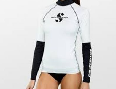 Scubapro UPF 50 T-Flex Long Sleeve Rash Guard Women Shell