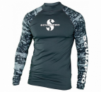 Scubapro UPF 50 Long Sleeve Rash Guard Men Graphite